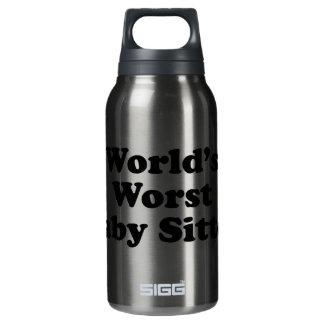 世界で最も悪いベビーシッター 断熱ウォーターボトル