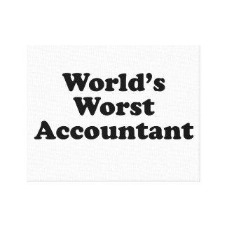 世界で最も悪い会計士 キャンバスプリント