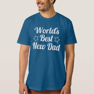 世界で最も最高ので新しいパパ Tシャツ