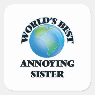 世界で最も最高ので迷惑な姉妹 スクエアシール