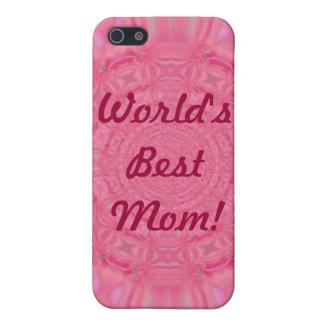 世界で最も最高のなお母さんのピンクのiphone 4ケース iPhone 5 カバー
