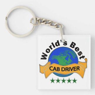 世界で最も最高のなタクシー運転手 キーホルダー