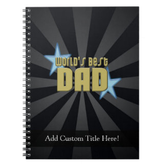 世界で最も最高のなパパ、ブルースター ノートブック