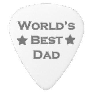 世界で最も最高のなパパ ホワイトデルリン ギターピック