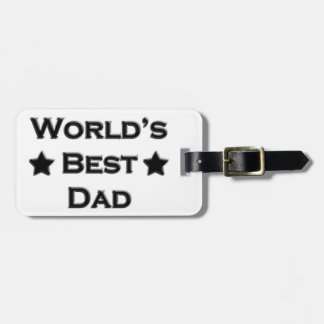 世界で最も最高のなパパ ラゲッジタグ