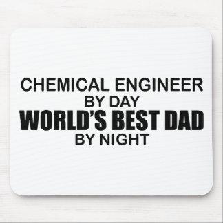 世界で最も最高のなパパ-化学エンジニア マウスパッド