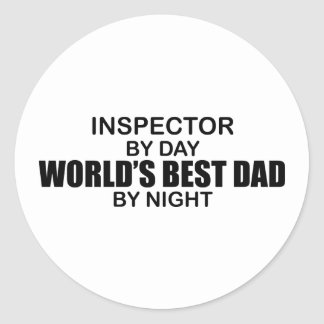 世界で最も最高のなパパ-検査官 ラウンドシール