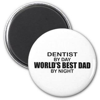 世界で最も最高のなパパ-歯科医 マグネット
