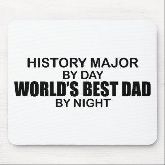 世界で最も最高のなパパ-歴史の専攻学生 マウスパッド