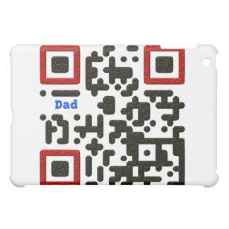 世界で最も最高のなパパQRコード iPad MINIケース