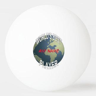 世界で最も最高のなビールPongプレーヤー 卓球ボール