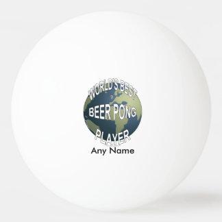 世界で最も最高のなビールPongプレーヤー 卓球 球
