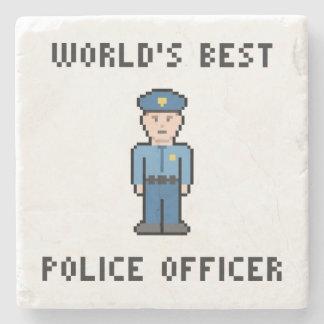 世界で最も最高のなピクセル警官 ストーンコースター