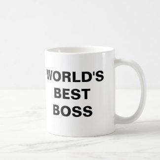 世界で最も最高のなボス コーヒーマグカップ