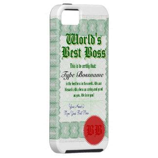 世界で最も最高のなボスCerticate iPhone SE/5/5s ケース