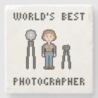 世界で最も最高のなメスのカメラマン ストーンコースター