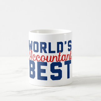 世界で最も最高のな会計士 コーヒーマグカップ