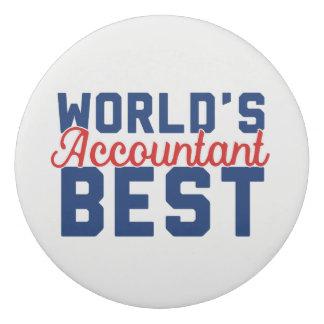 世界で最も最高のな会計士 消しゴム