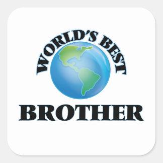 世界で最も最高のな兄弟 スクエアシール
