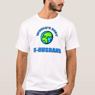 世界で最も最高のな先夫 Tシャツ