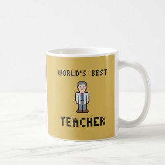 世界で最も最高のな先生のマグ コーヒーマグカップ