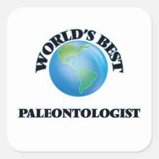 世界で最も最高のな古生物学者 スクエアシール
