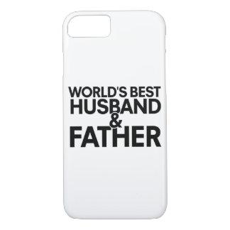 世界で最も最高のな夫および父 iPhone 8/7ケース
