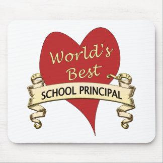 世界で最も最高のな学校長 マウスパッド