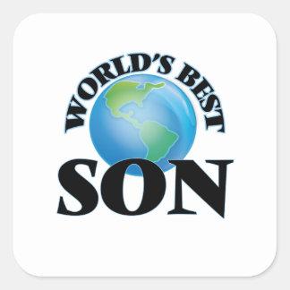 世界で最も最高のな息子 スクエアシール