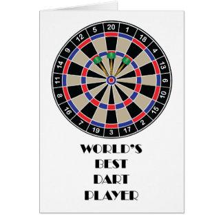 世界で最も最高のな投げ矢プレーヤー カード
