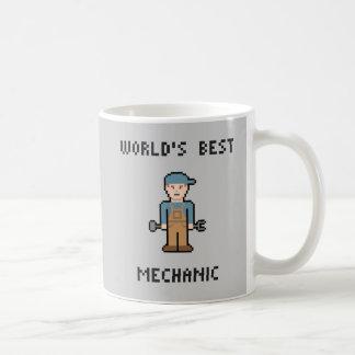 世界で最も最高のな整備士 コーヒーマグカップ