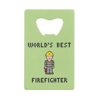 世界で最も最高のな消防士 クレジットカード 栓抜き