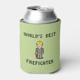 世界で最も最高のな消防士 缶クーラー