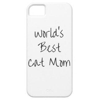 世界で最も最高のな猫のお母さん-黒 iPhone SE/5/5s ケース
