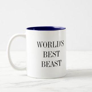 世界で最も最高のな獣のマグ ツートーンマグカップ