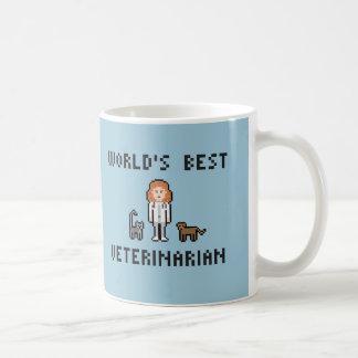 世界で最も最高のな獣医-女性版-マグ コーヒーマグカップ
