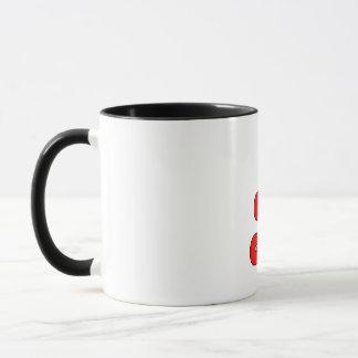 世界で最も最高のな祖母の虹色のコーヒー・マグ マグカップ