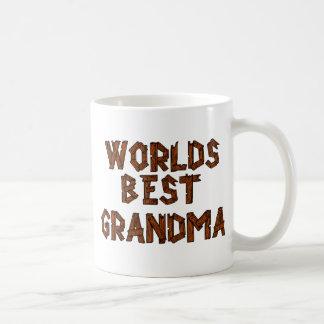 世界で最も最高のな祖母 コーヒーマグカップ