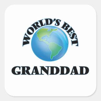 世界で最も最高のな祖父 スクエアシール