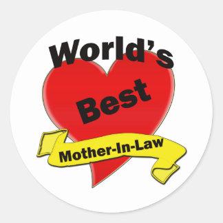 世界で最も最高のな義母 ラウンドシール