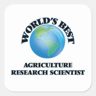 世界で最も最高のな農業の研究の科学者 スクエアシール