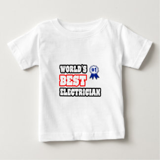 世界で最も最高のな電気技師 ベビーTシャツ