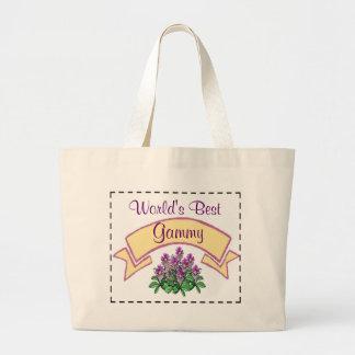 世界で最も最高のなGammyあなたの祖母のためにカスタマイズ ラージトートバッグ
