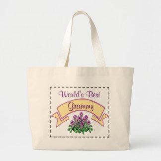 世界で最も最高のなGrammyはあなたの祖母のためにカスタマイズ ラージトートバッグ