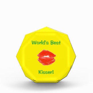 世界で最も最高のなKisser 4Luke 表彰盾