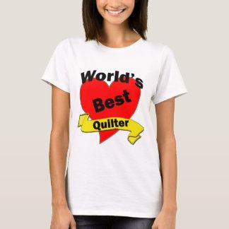 世界で最も最高のなquilter tシャツ