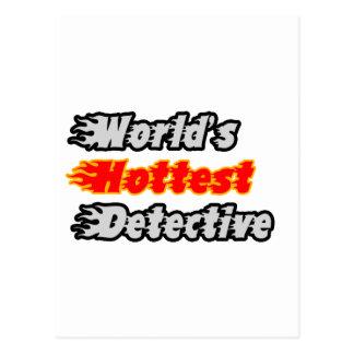 世界で最も熱い探偵 ポストカード