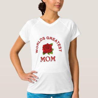 世界で最も素晴らしいお母さんのTシャツ Tシャツ