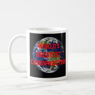 世界で最も素晴らしいカイロプラクターのコーヒー・マグ コーヒーマグカップ