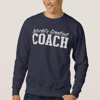 世界で最も素晴らしいコーチのCrewneckのスエットシャツ スウェットシャツ